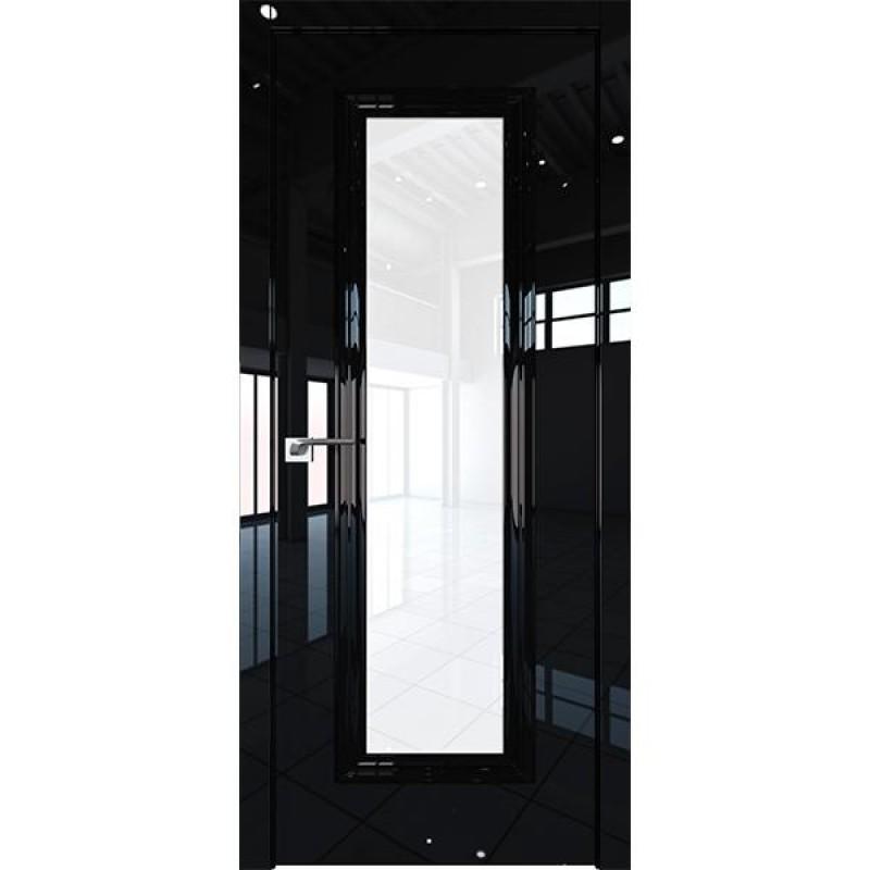Дверь 81LK Черный люкс Профиль Дорс