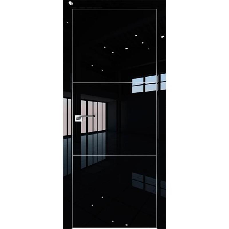Дверь 2LK Черный люкс Профиль Дорс