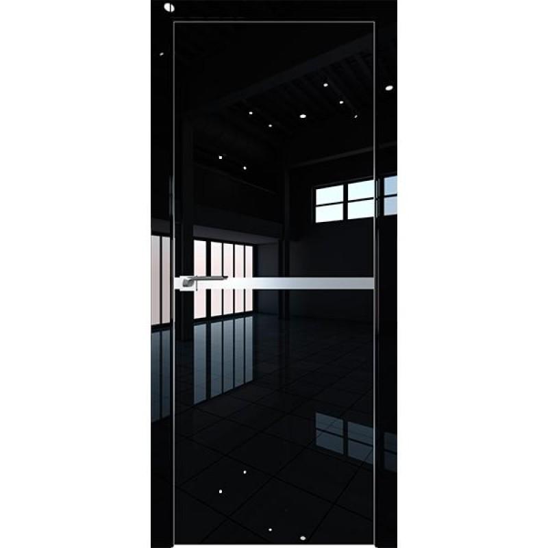 Дверь 11LK Черный люкс Профиль Дорс