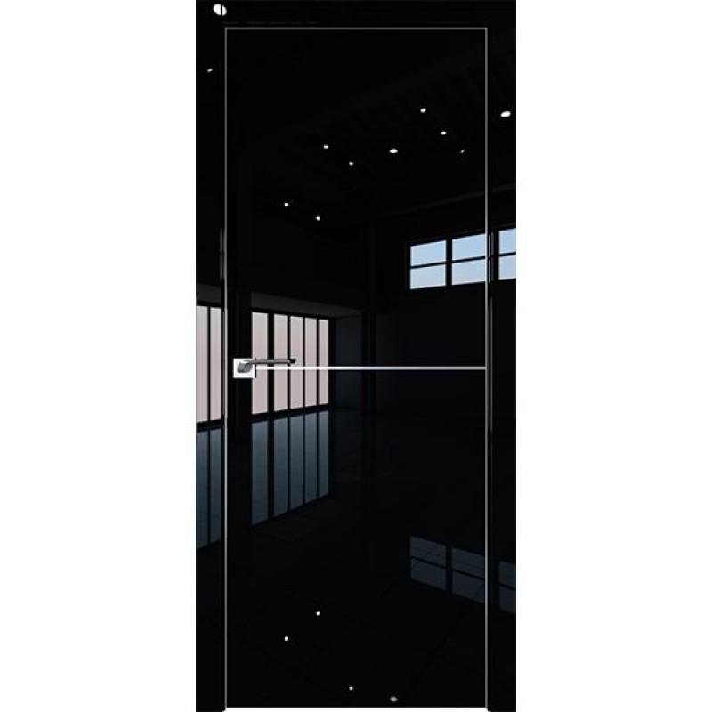 Дверь 12LK Черный люкс Профиль Дорс