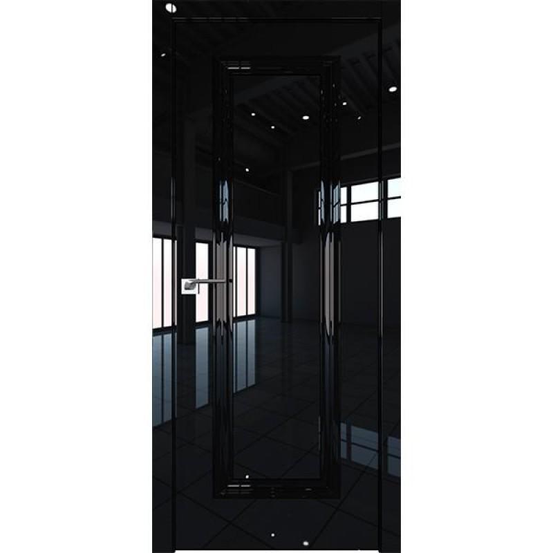Дверь 80LK Черный люкс Профиль Дорс