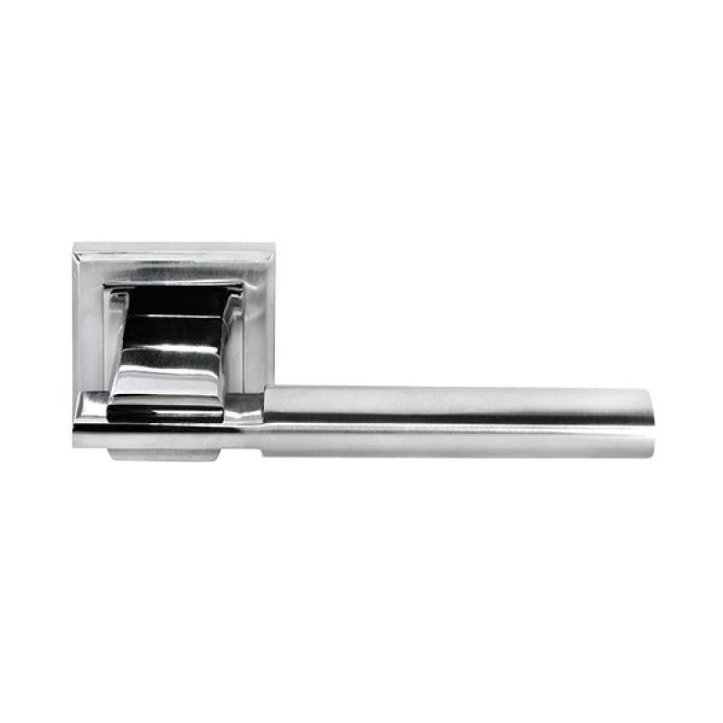 Дверная ручка Morelli DIY MH-13 SC/CP-S Матовый хром