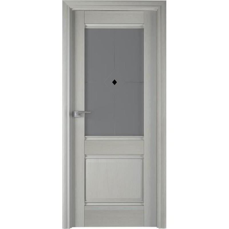 Дверь 2Х Эш вайт Профиль Дорс