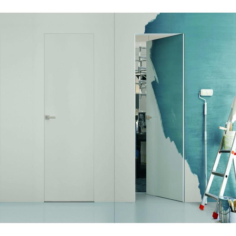 Дверь под покраску обратного открывания — от себя с коробкой Reverse Invisible