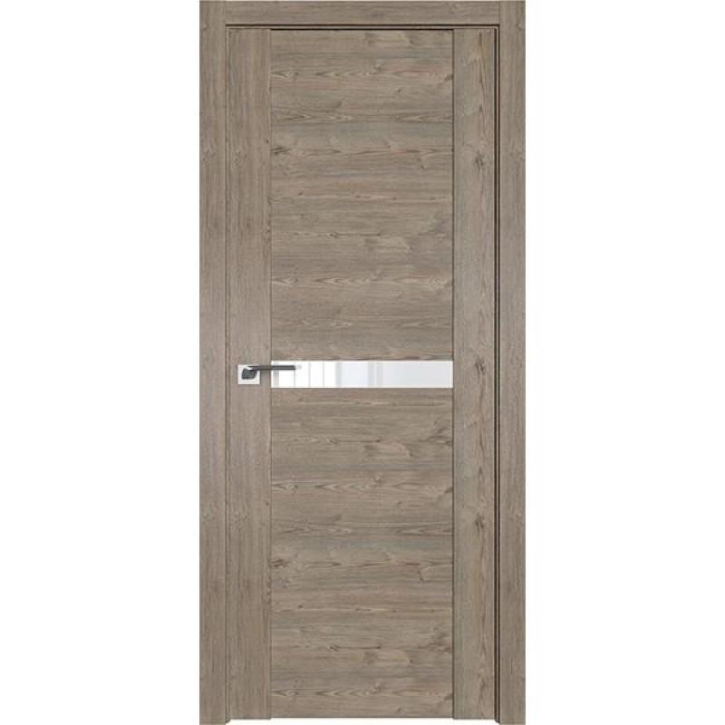 Дверь 2.01XN Каштан темный-02 Профиль Дорс