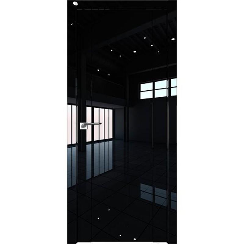 Дверь Профиль дорс 20L Черный люкс - глухая