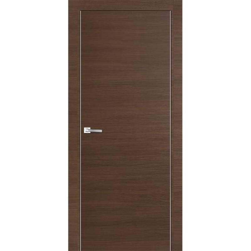 Дверь 1Z Малага черри кроскут Профиль Дорс