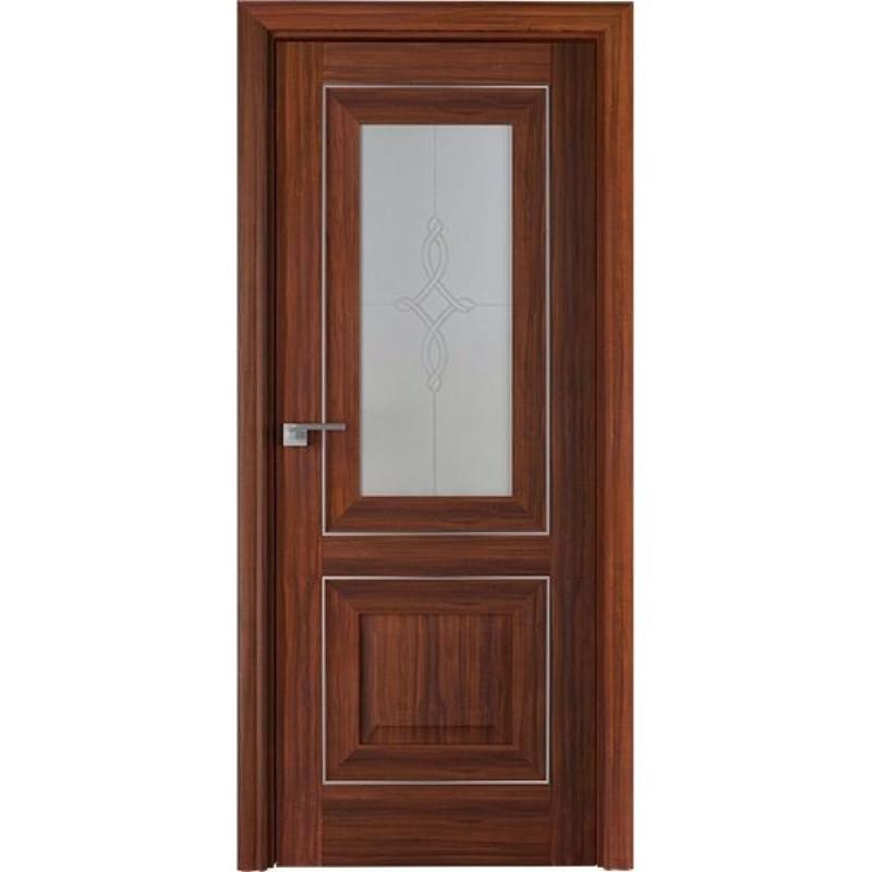 Дверь 28Х Орех амари Профиль Дорс