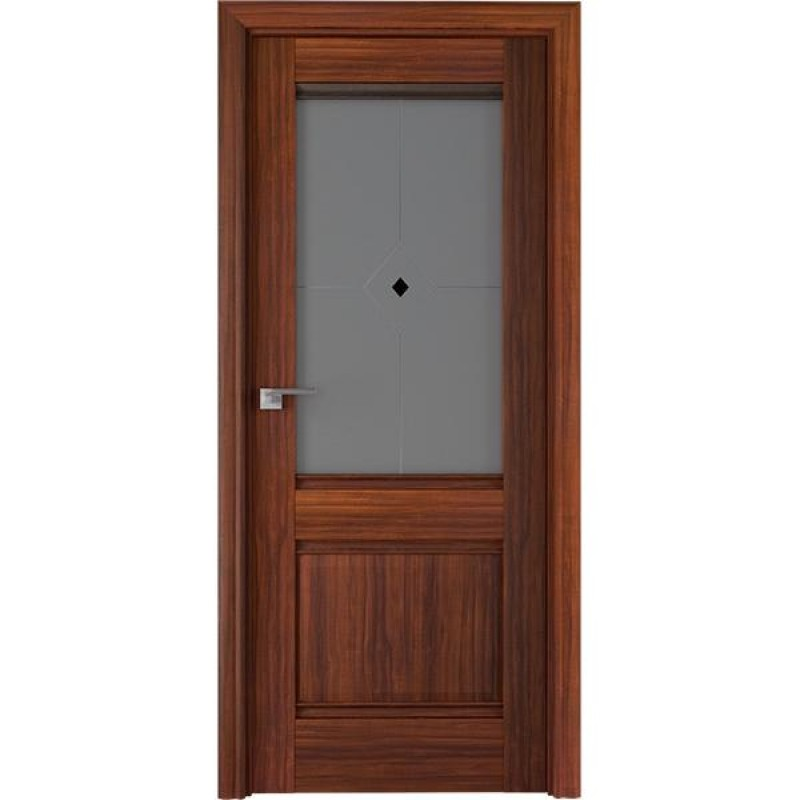 Дверь 2Х Орех амари Профиль Дорс