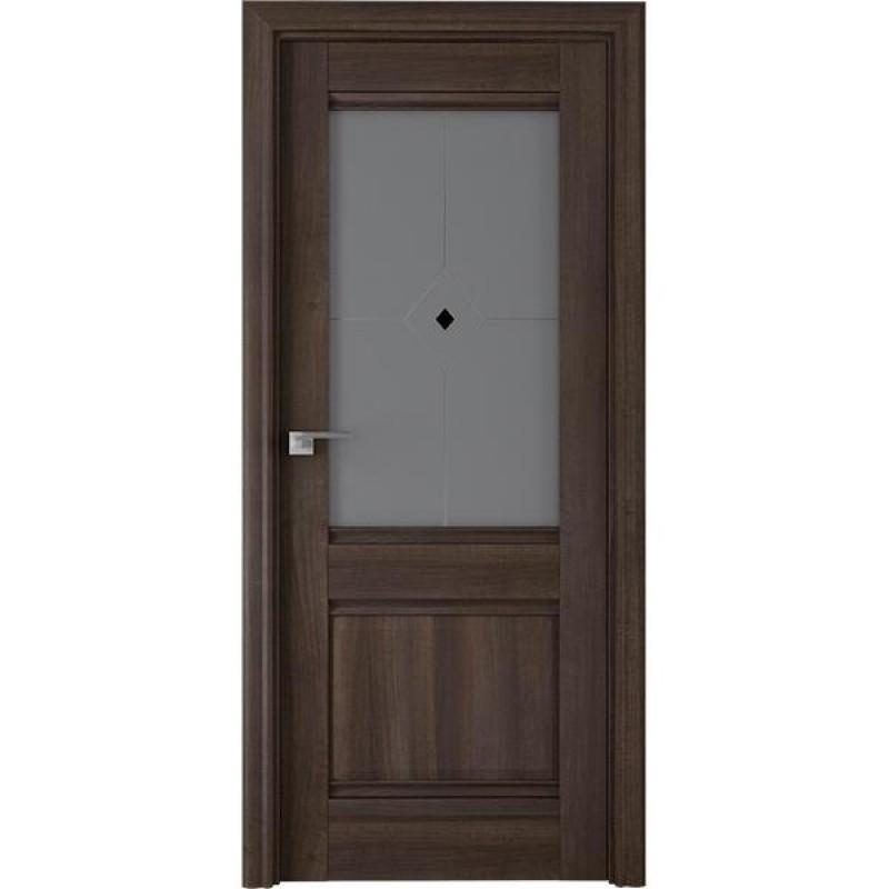 Дверь 2Х Орех сиена Профиль Дорс