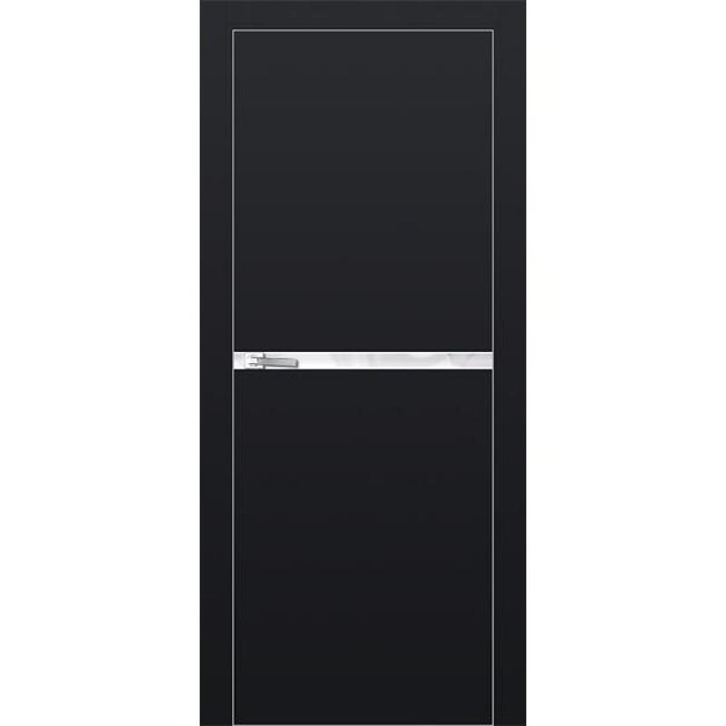 Дверь 11Е Черный матовый Профиль Дорс