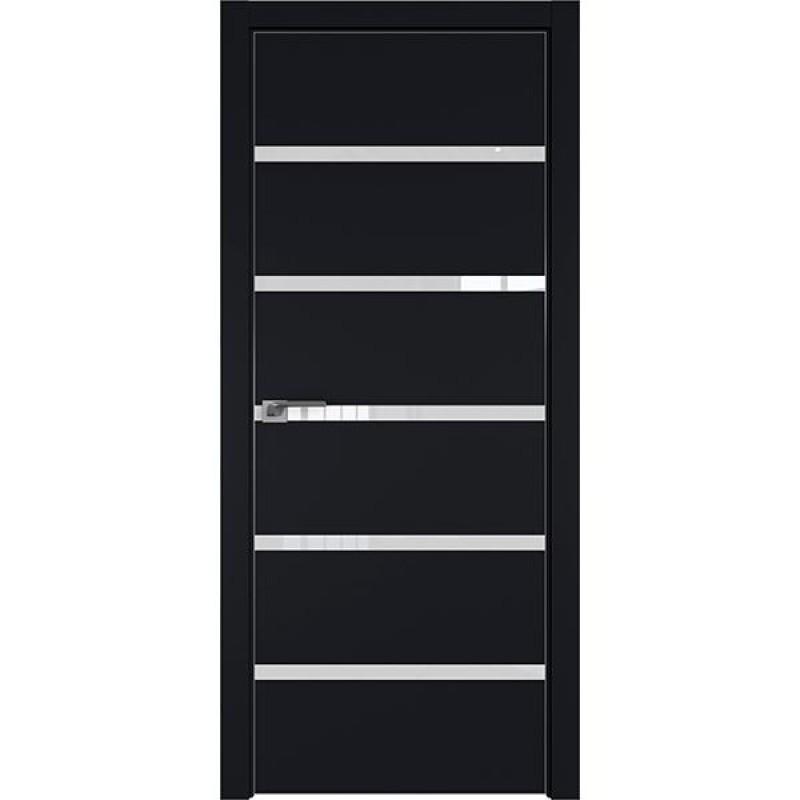 Дверь 13Е Черный матовый Профиль Дорс