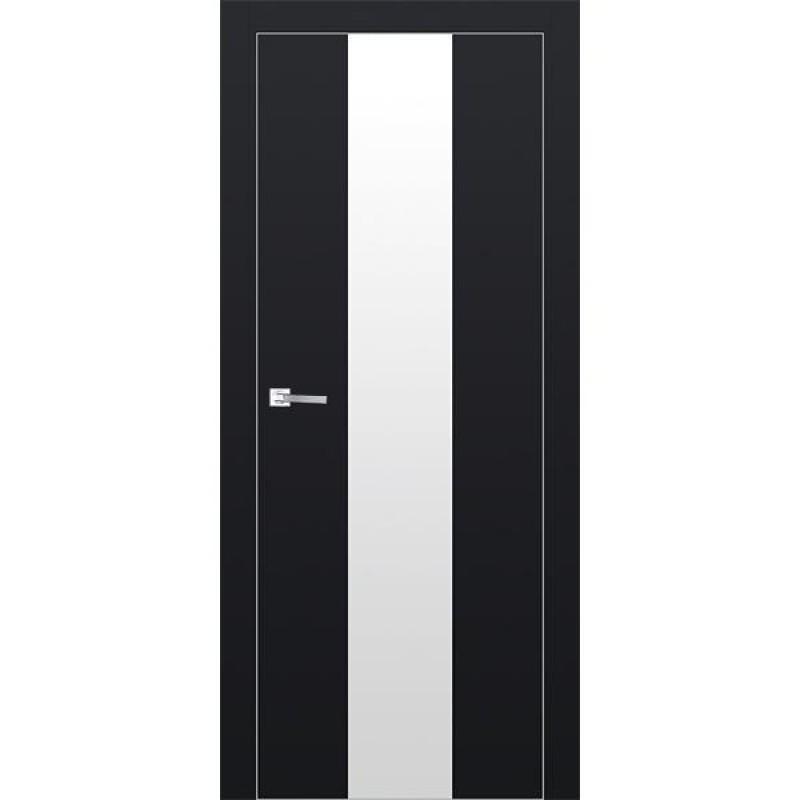 Дверь 25Е Черный матовый Профиль Дорс