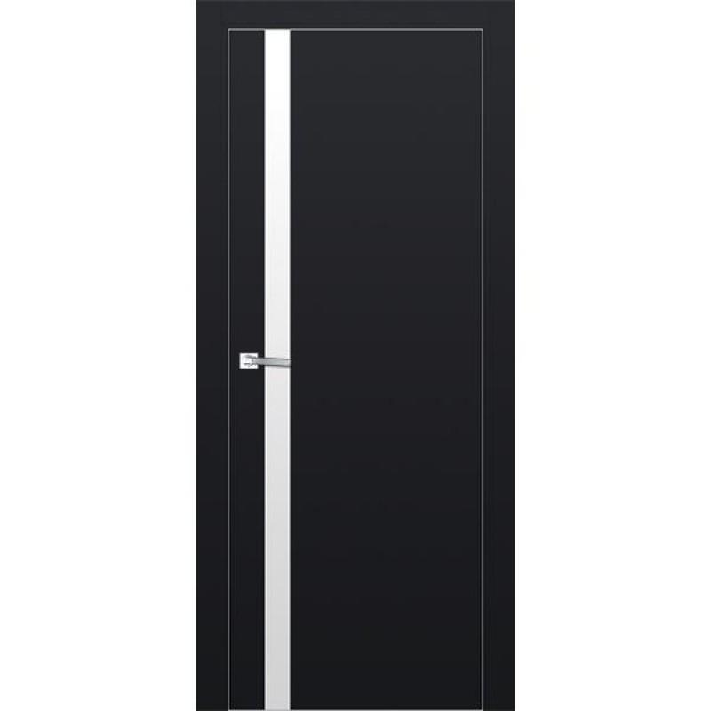 Дверь 6Е Черный матовый Профиль Дорс