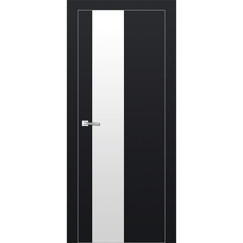 Дверь 5Е Черный матовый Профиль Дорс