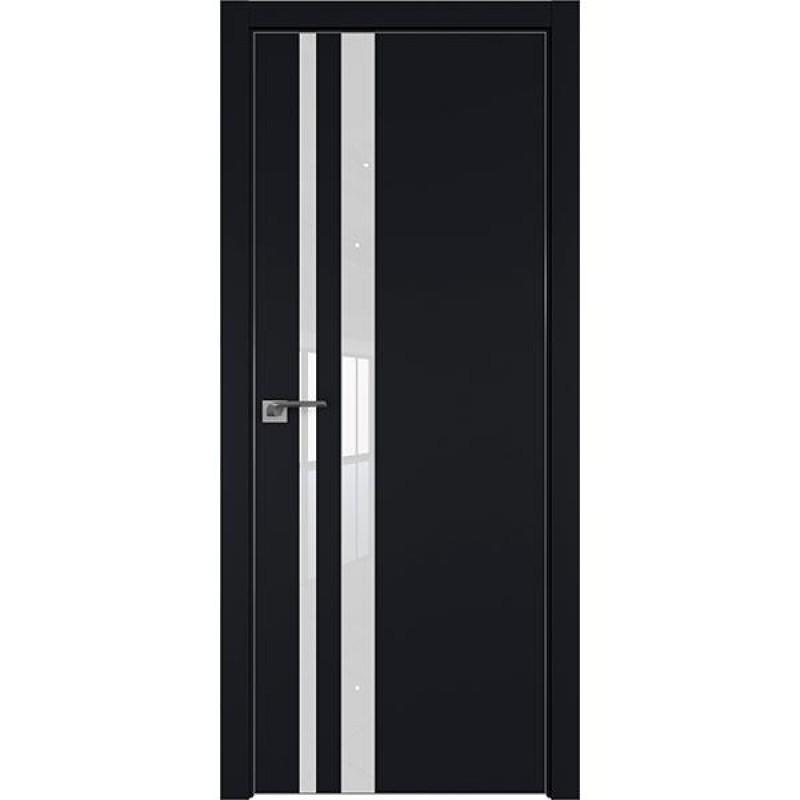 Дверь 16Е Черный матовый Профиль Дорс