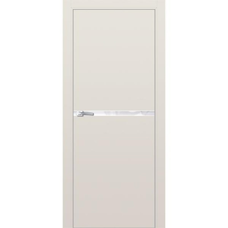 Дверь 11Е Магнолия сатинат Профиль Дорс