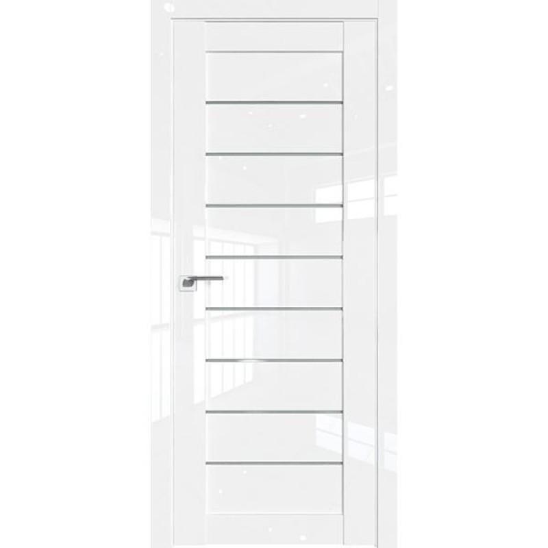 Дверь 73L Белый люкс Профиль Дорс