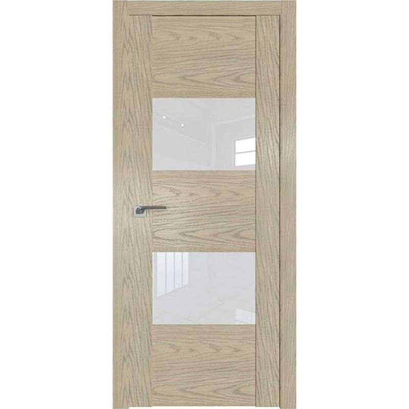 Дверь 21N Дуб Sky Крем Профиль Дорс