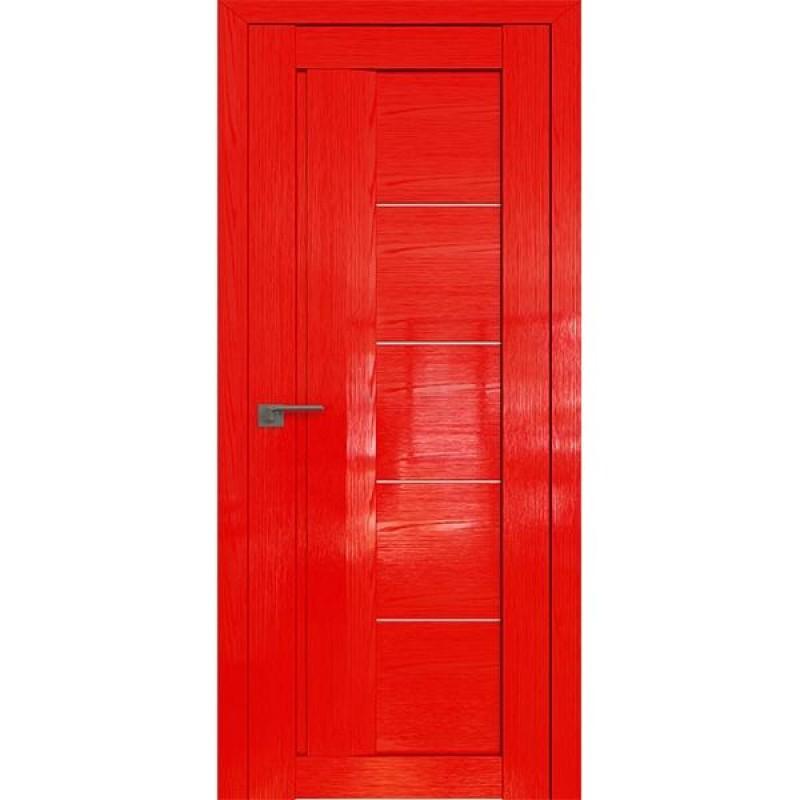 Дверь 2.10STP Pine Red glossy Профиль Дорс