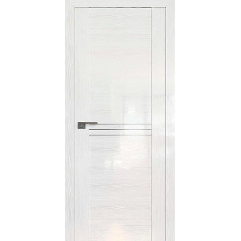 Дверь 150STP Pine White glossy Профиль Дорс