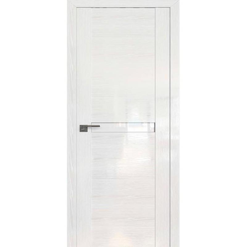 Дверь 2.01STP Pine White glossy Профиль Дорс