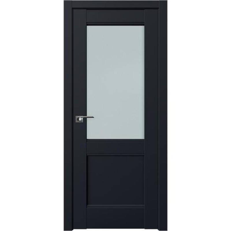 Дверь 109U Черный матовый Профиль Дорс
