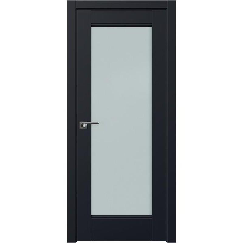 Дверь 107U Черный матовый Профиль Дорс