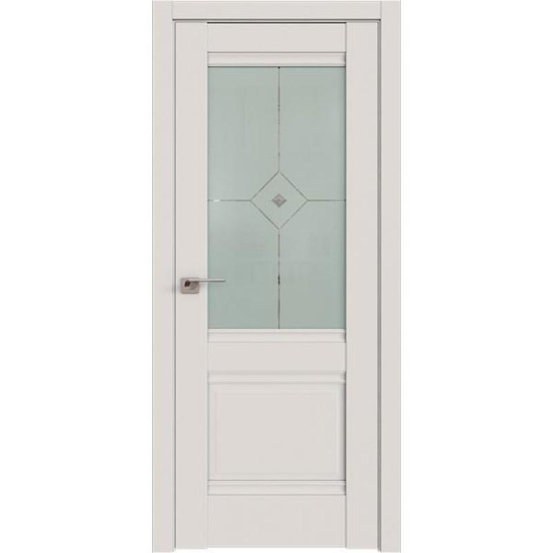 Дверь 2U Дарк вайт Профиль Дорс