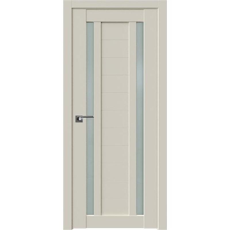Дверь 15U Магнолия сатинат Профиль Дорс