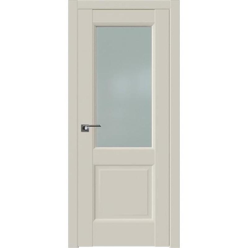 Дверь 90U Магнолия сатинат Профиль Дорс