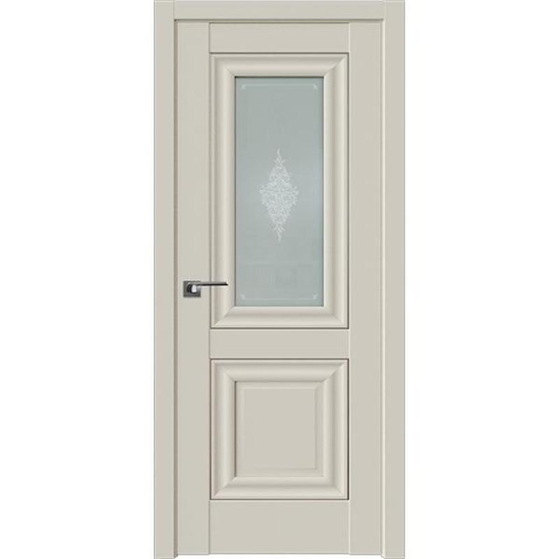 Дверь 28U Магнолия сатинат Профиль Дорс