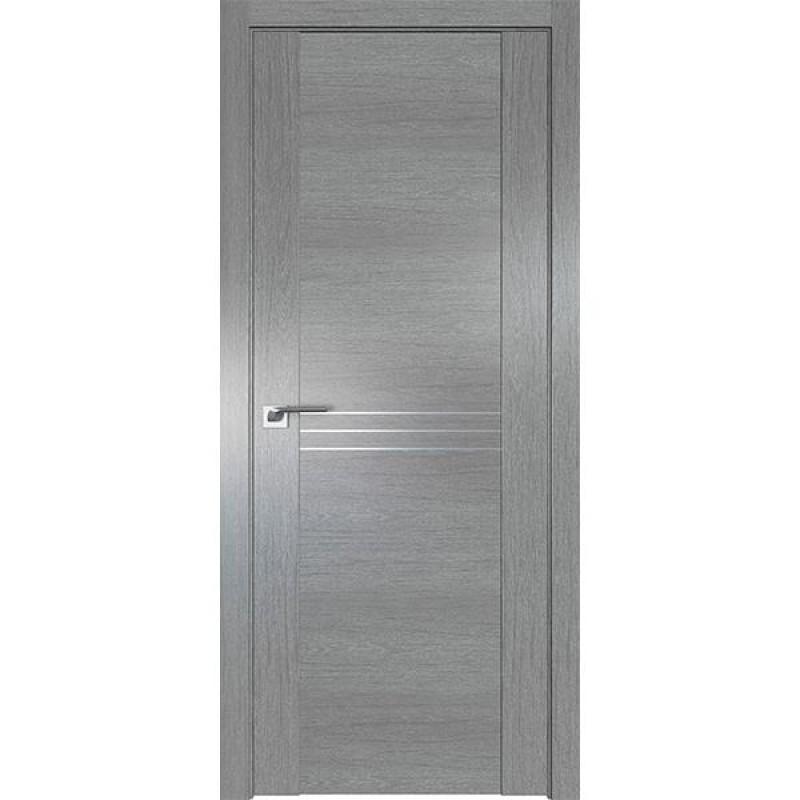 Дверь 150XN Грувд серый Профиль Дорс