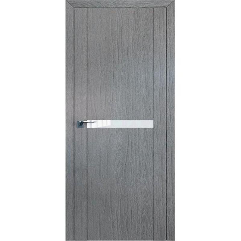 Дверь 2.02XN Грувд серый Профиль Дорс