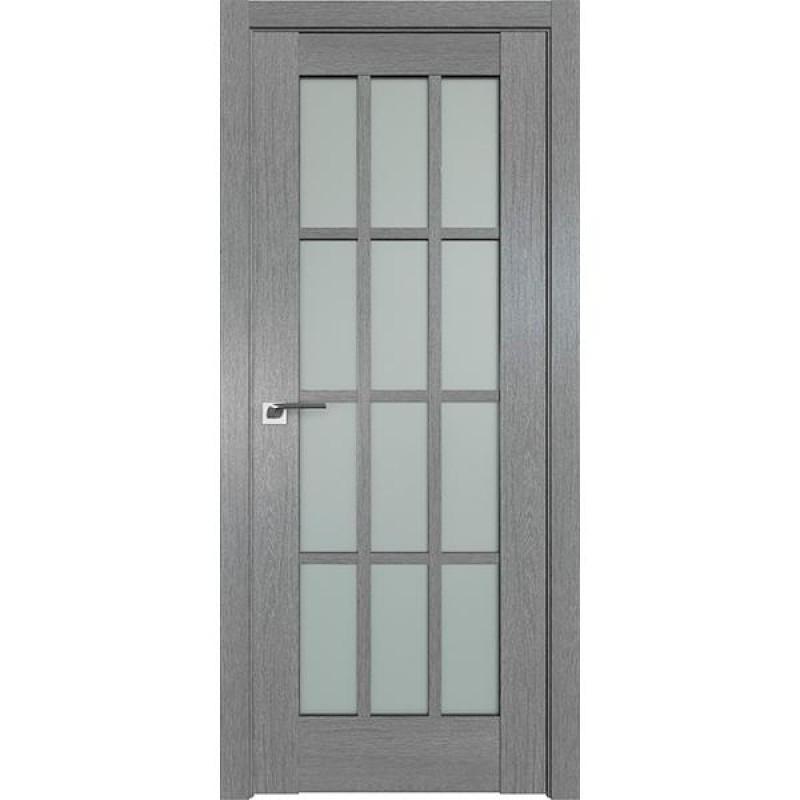 Дверь 102XN Грувд серый Профиль Дорс