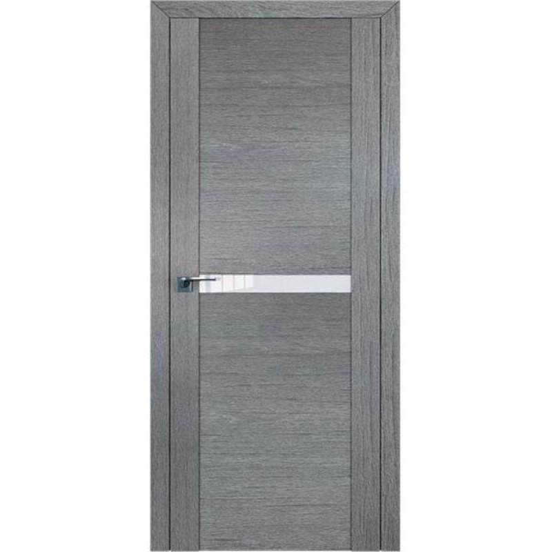 Дверь 2.01XN Грувд серый Профиль Дорс