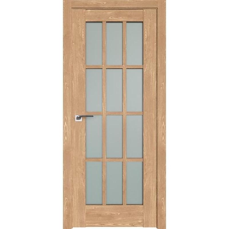 Дверь 102XN Каштан натуральный Профиль Дорс