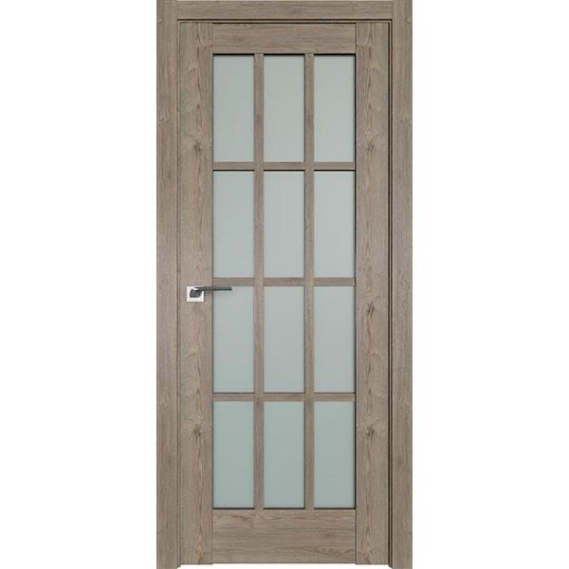 Дверь 102XN Каштан темный Профиль Дорс