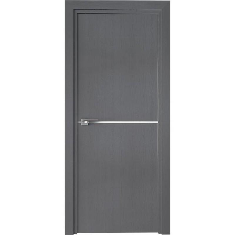 Дверь 12ZN Грувд серый Профиль Дорс