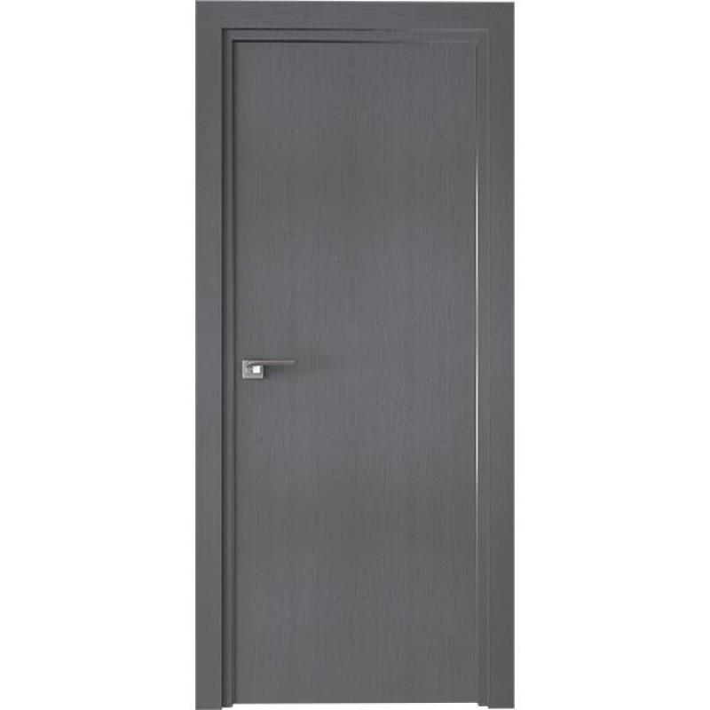 Дверь 1ZN Грувд серый Профиль Дорс