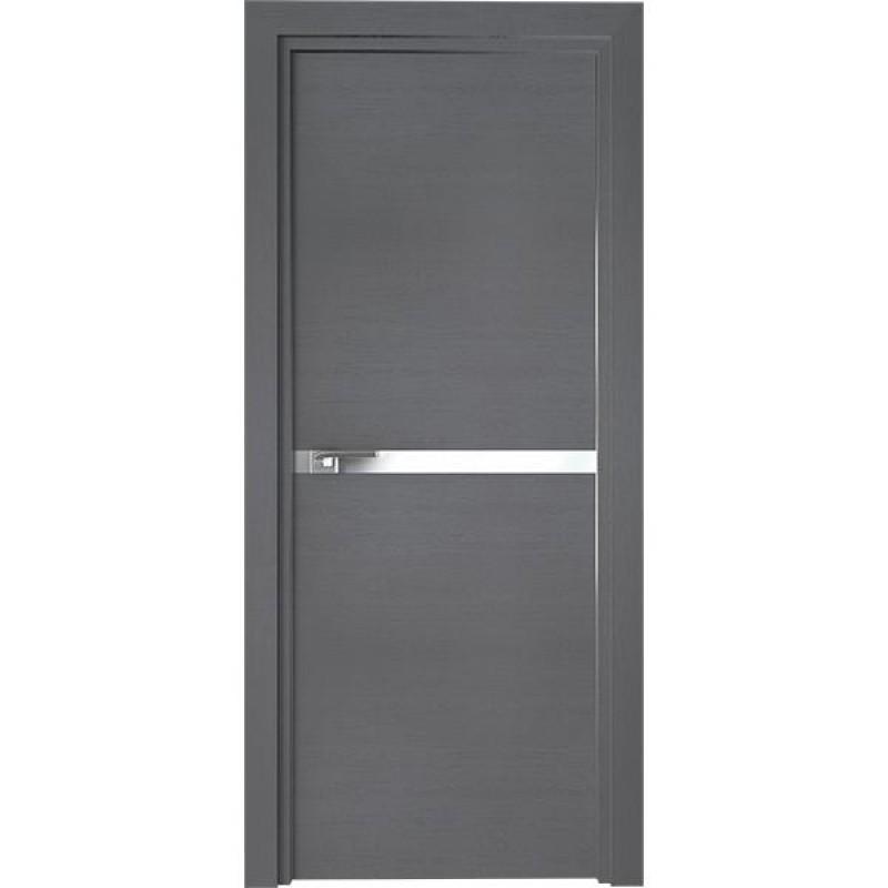 Дверь 11ZN Грувд серый Профиль Дорс