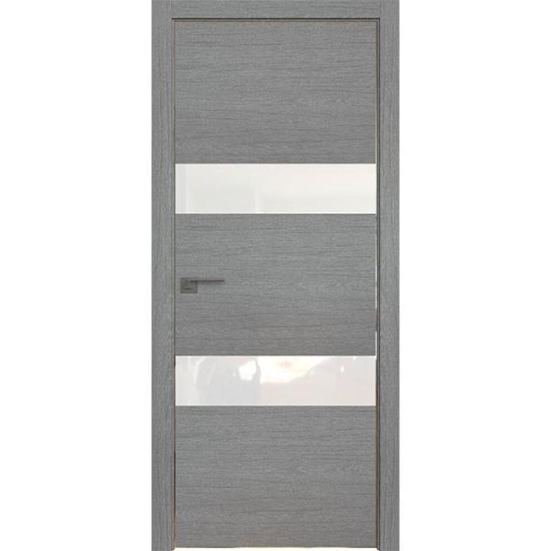Дверь 34ZN Грувд серый Профиль Дорс