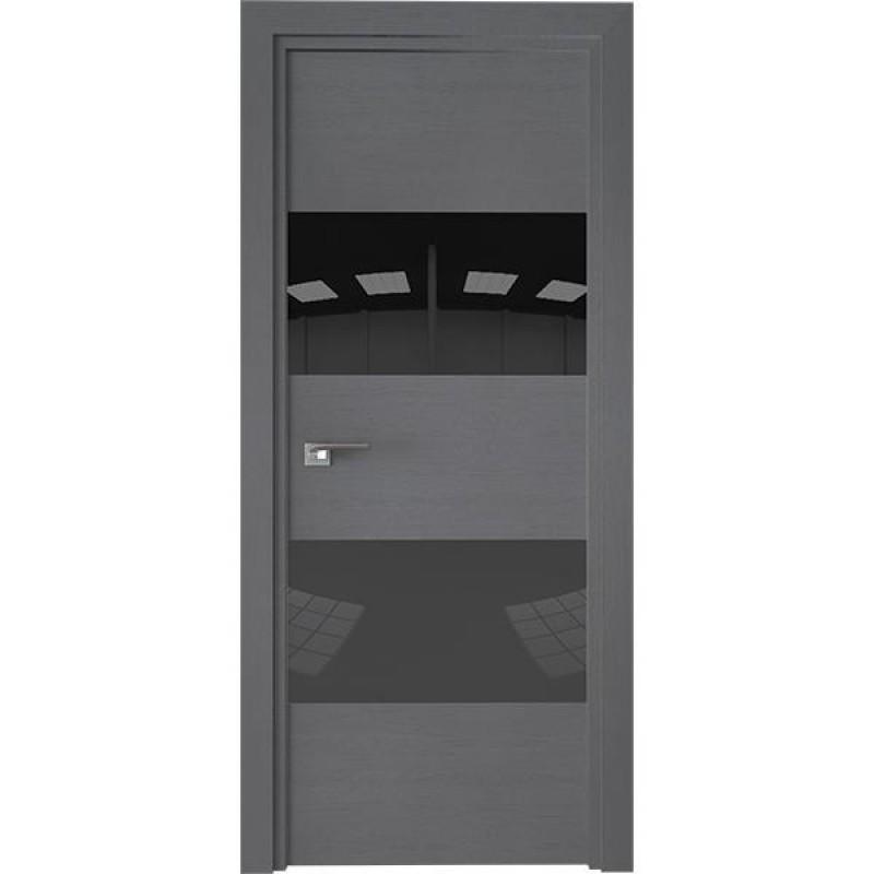 Дверь 10ZN Грувд серый Профиль Дорс