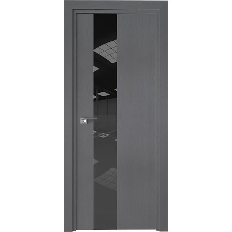 Дверь 5ZN Грувд серый Профиль Дорс