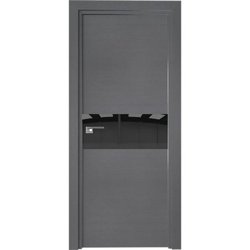 Дверь 4ZN Грувд серый Профиль Дорс