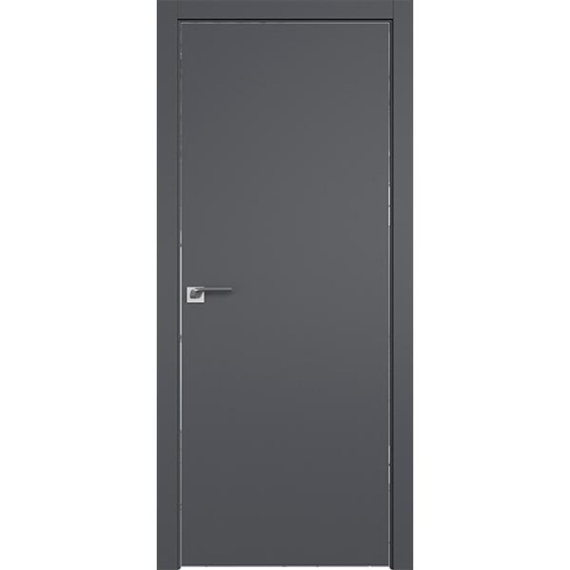 Дверь 1SMK Серый матовый Профиль Дорс