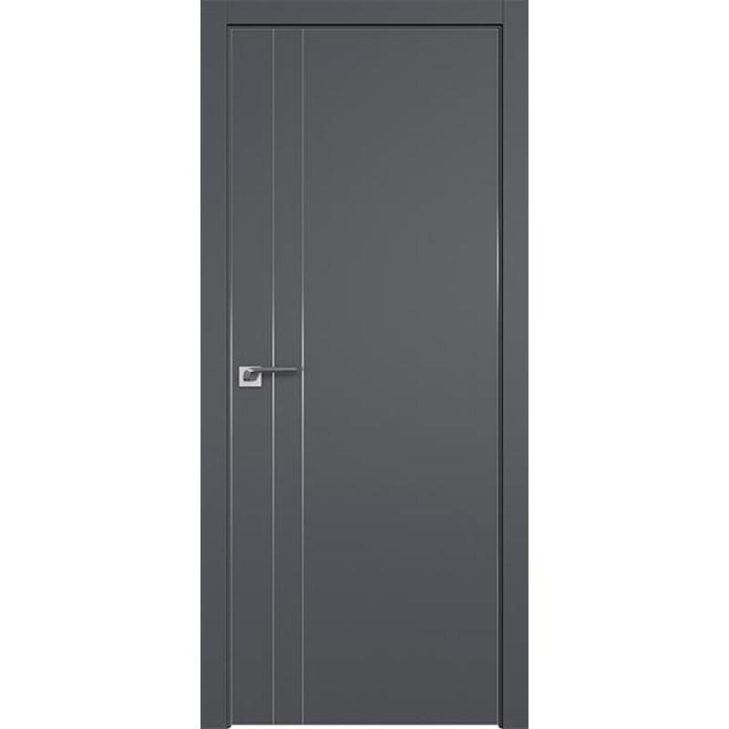 Дверь 42SMK Серый матовый Профиль Дорс