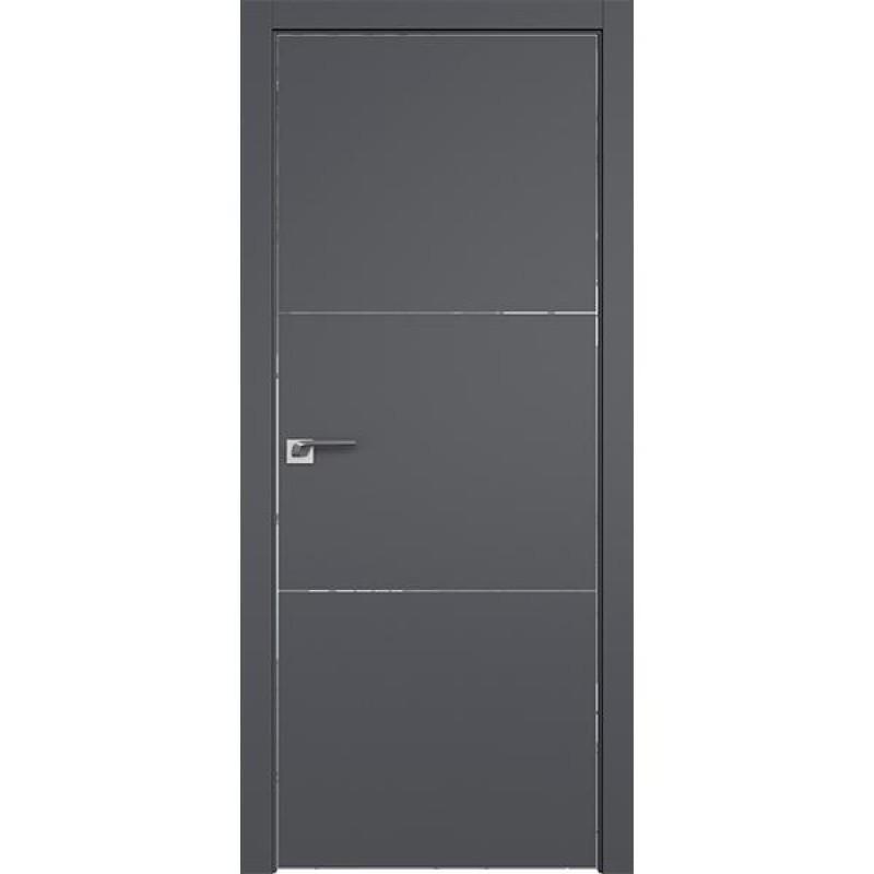 Дверь 44SMK Серый матовый Профиль Дорс