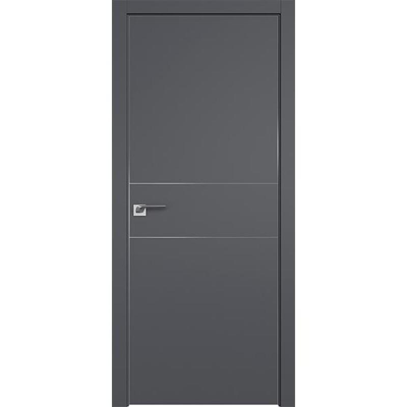 Дверь 41SMK Серый матовый Профиль Дорс