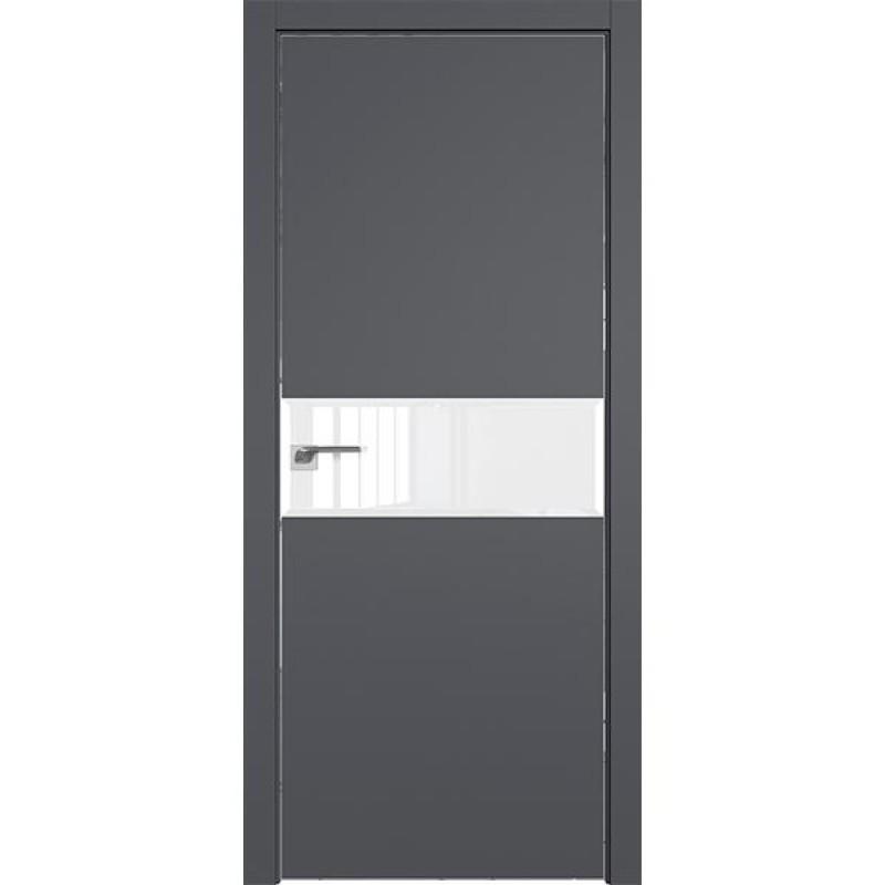 Дверь 4SMK Серый матовый Профиль Дорс